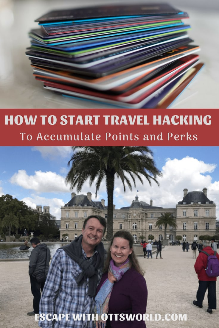 Travel hacking is the process of earning travel reward points at little, or no, cost to you and then using those points to travel for the least amount of money possible and/or experience the joys of first class travel by strategically redeeming points in exchange for upgrades and travel experiences.