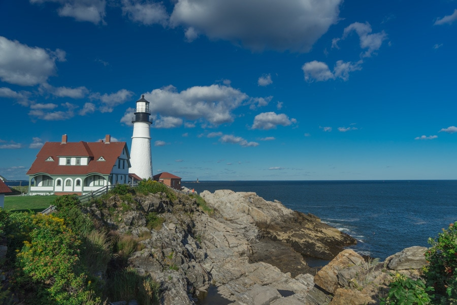 best drives in the world Maine