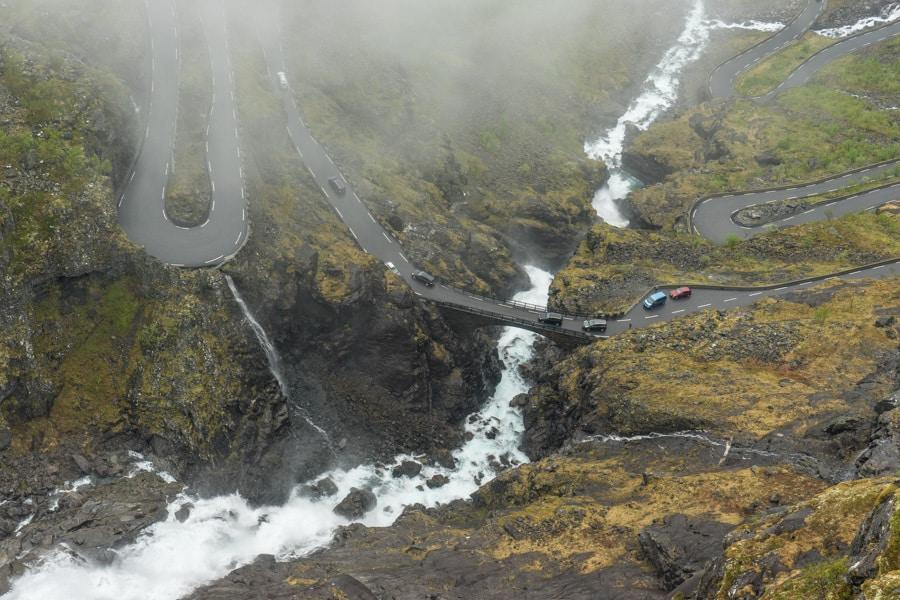 trollstigen road best drive in the world