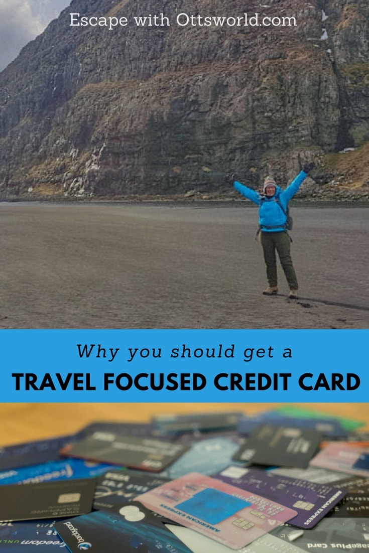 Why I got a travel focused credit card and how I use it. No, my motivation wasn't points or travel hacking...it was all of the other awesome travel perks that come with a travel focused credit card!