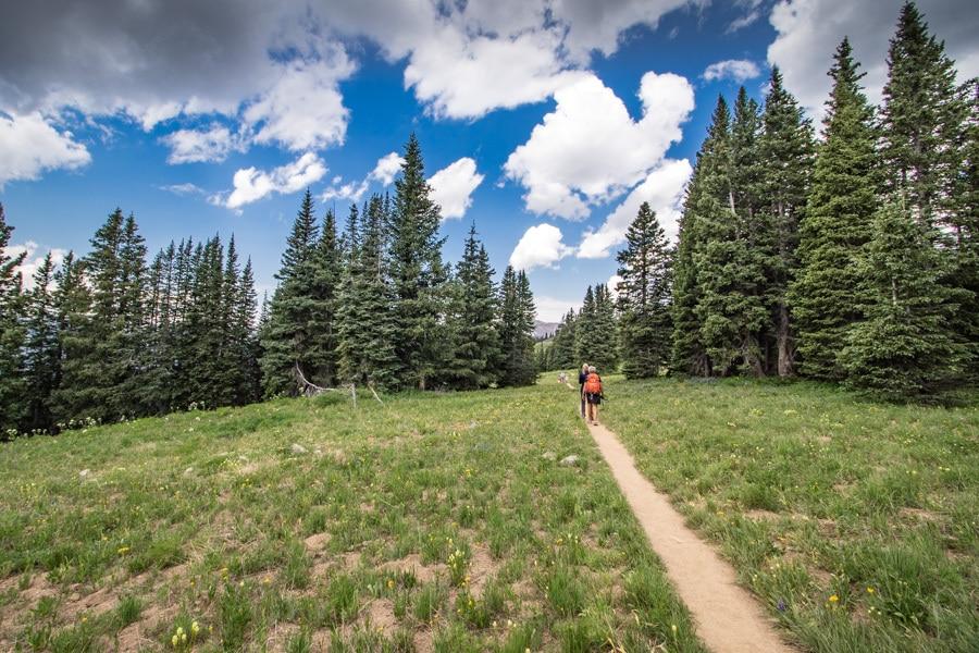 no trace hiking