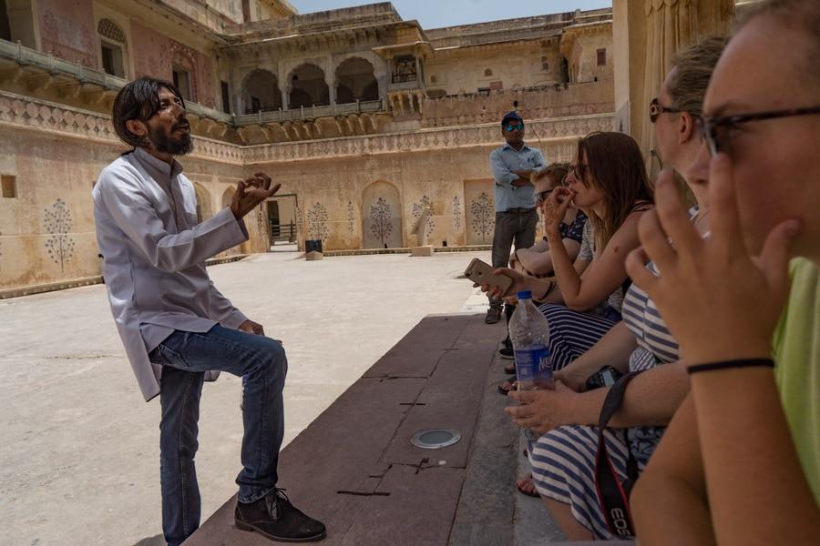 Intrepid Travel India guides