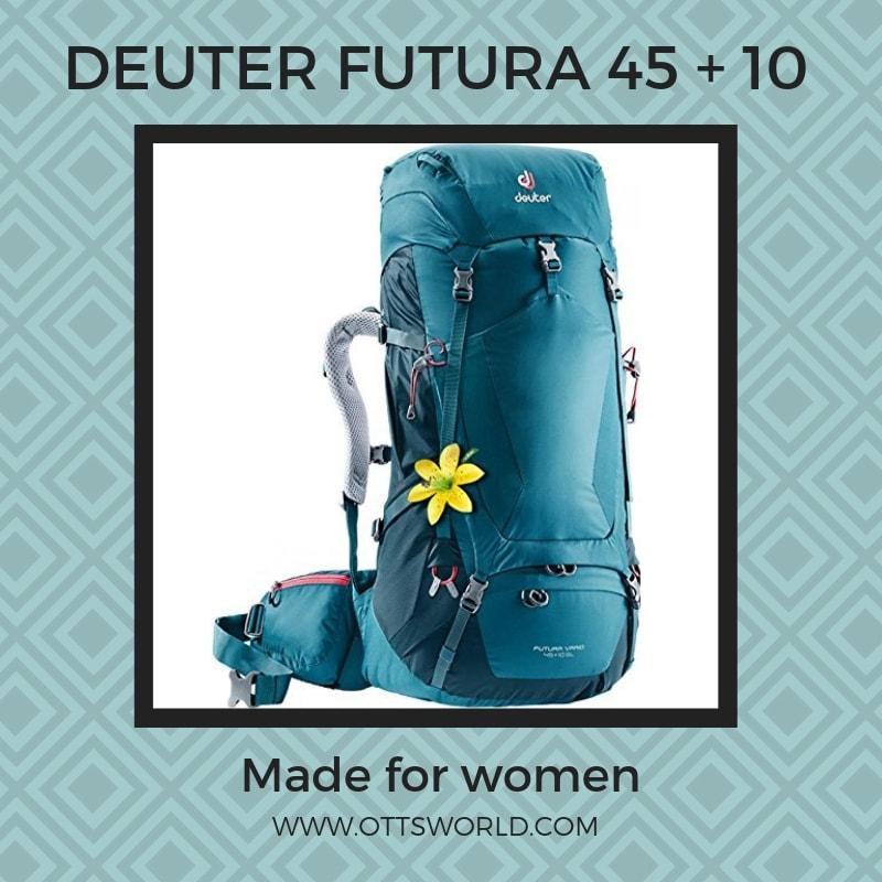 medium size hiking backpack