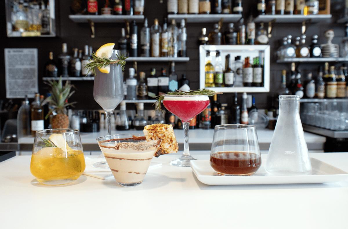 Chocolate lab cocktails