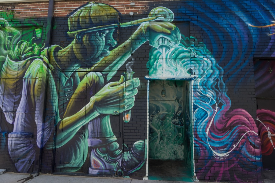 new to Denver grafitti