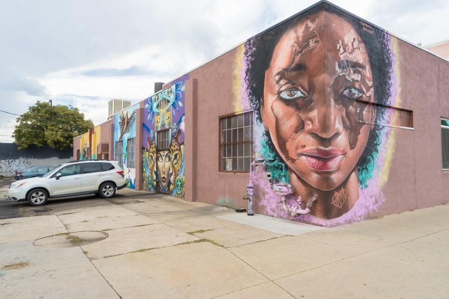Denver street art rino