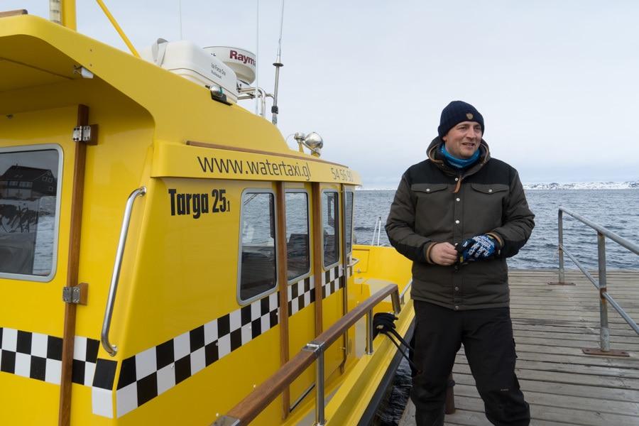 nuuk water taxi