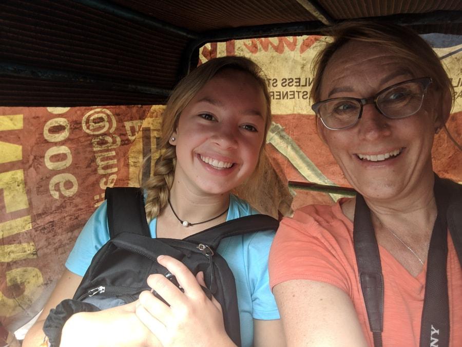 teenager travel india
