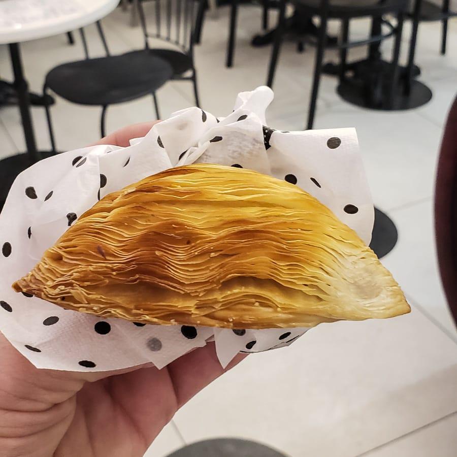 sfogliatella, a traditional Naples dessert food