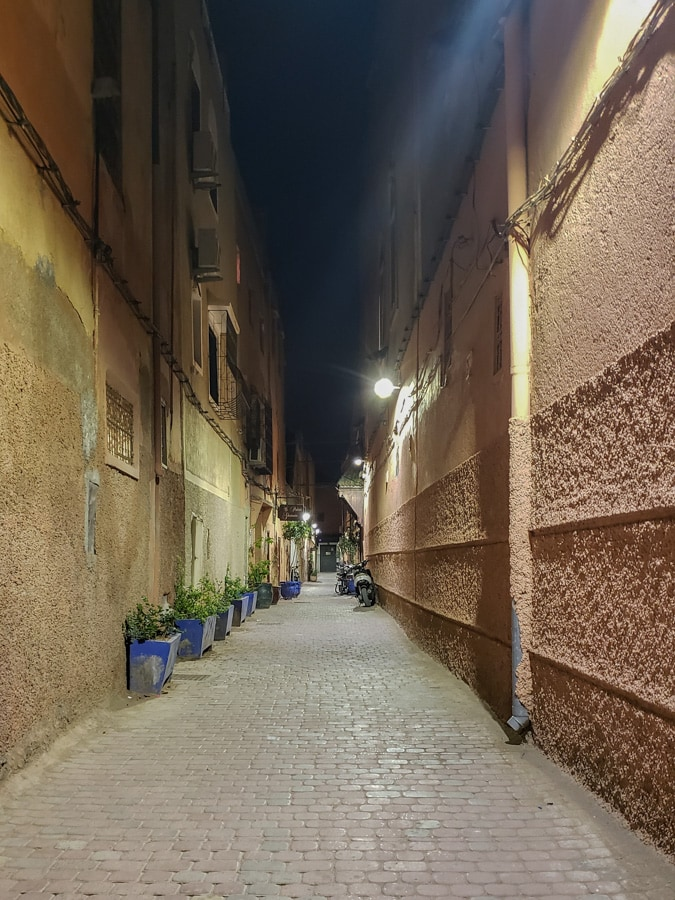empty streets during ramadan