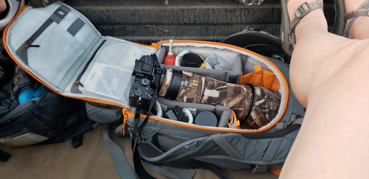 Lowepro Whistler bag