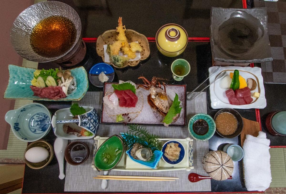 japanese ryokan food