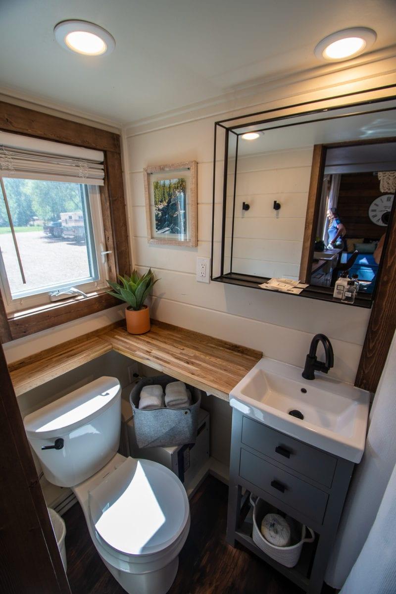 tiny home bathroom