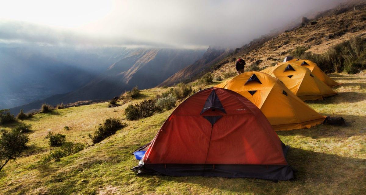 Vilcabamba trek camping