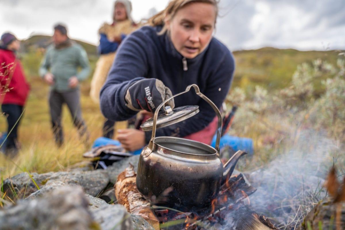 swedish fika in nature