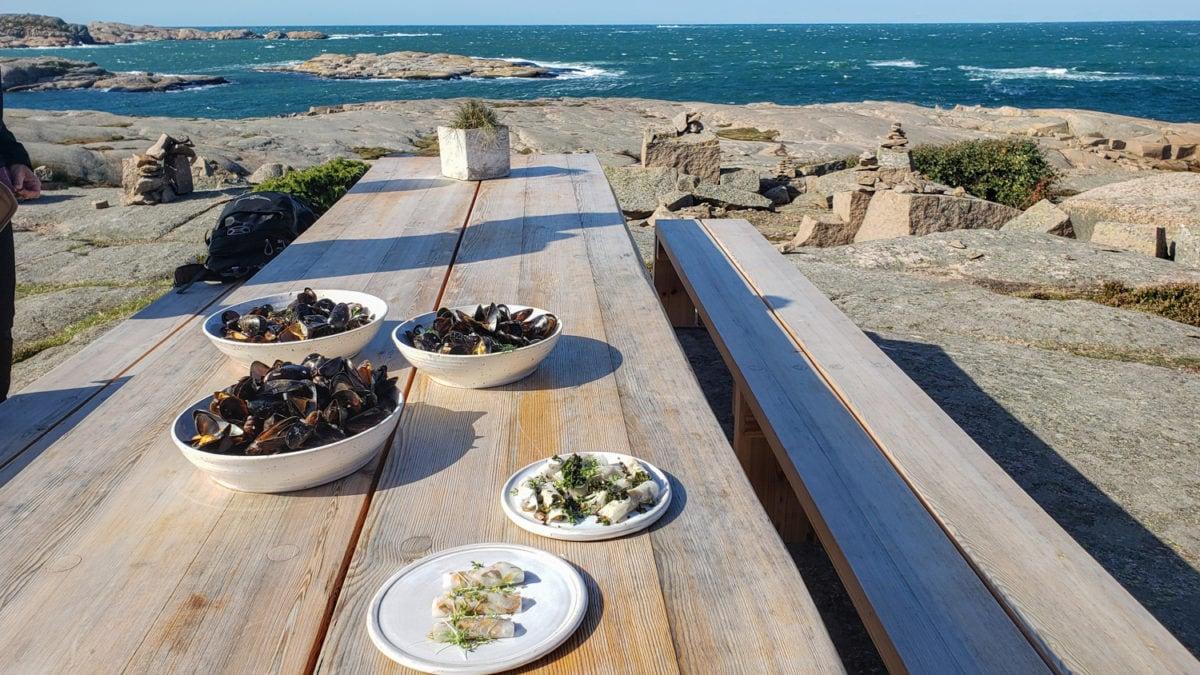 Sweden edible table