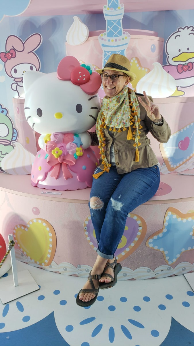 places to visit tokyo hello kitty