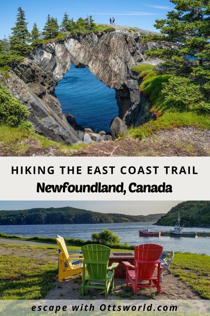 Hiking the East Coast Trail Newfoundland Canada