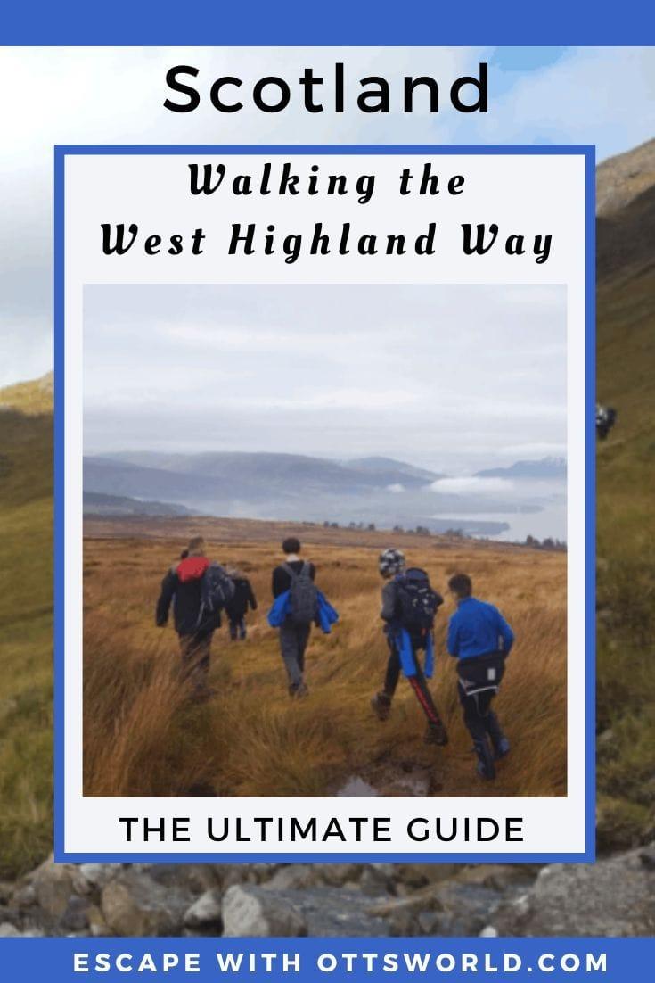 Scotland West Highland Way Hike