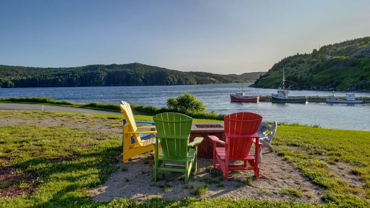 View of Port Kirwin Newfoundland