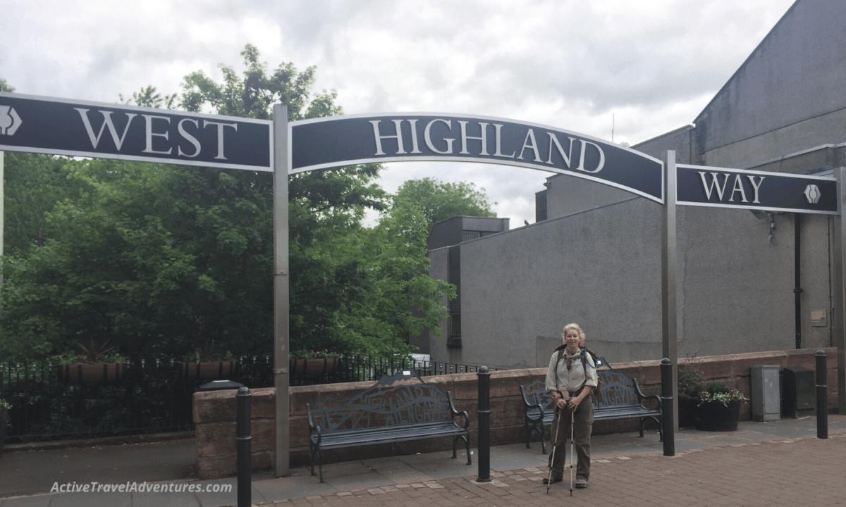 Milngavie west highland way start