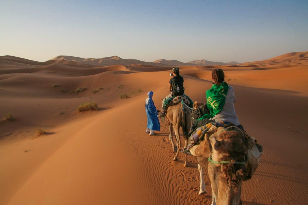 Erg Chigaga dunes sahara desert