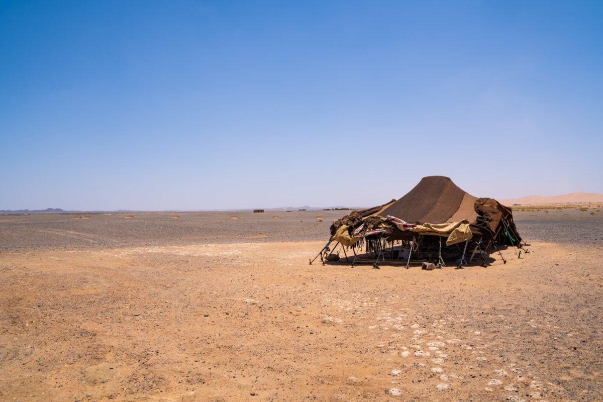 bedouin tent morocco desert