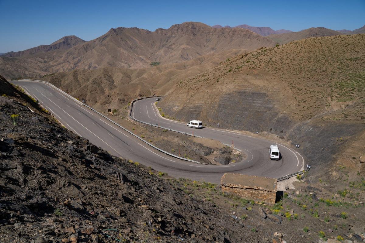 Morocco roads