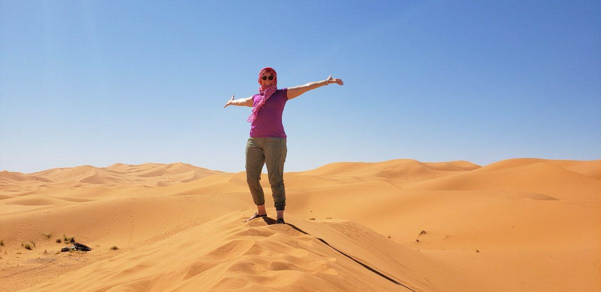 sherry in the sahara desert
