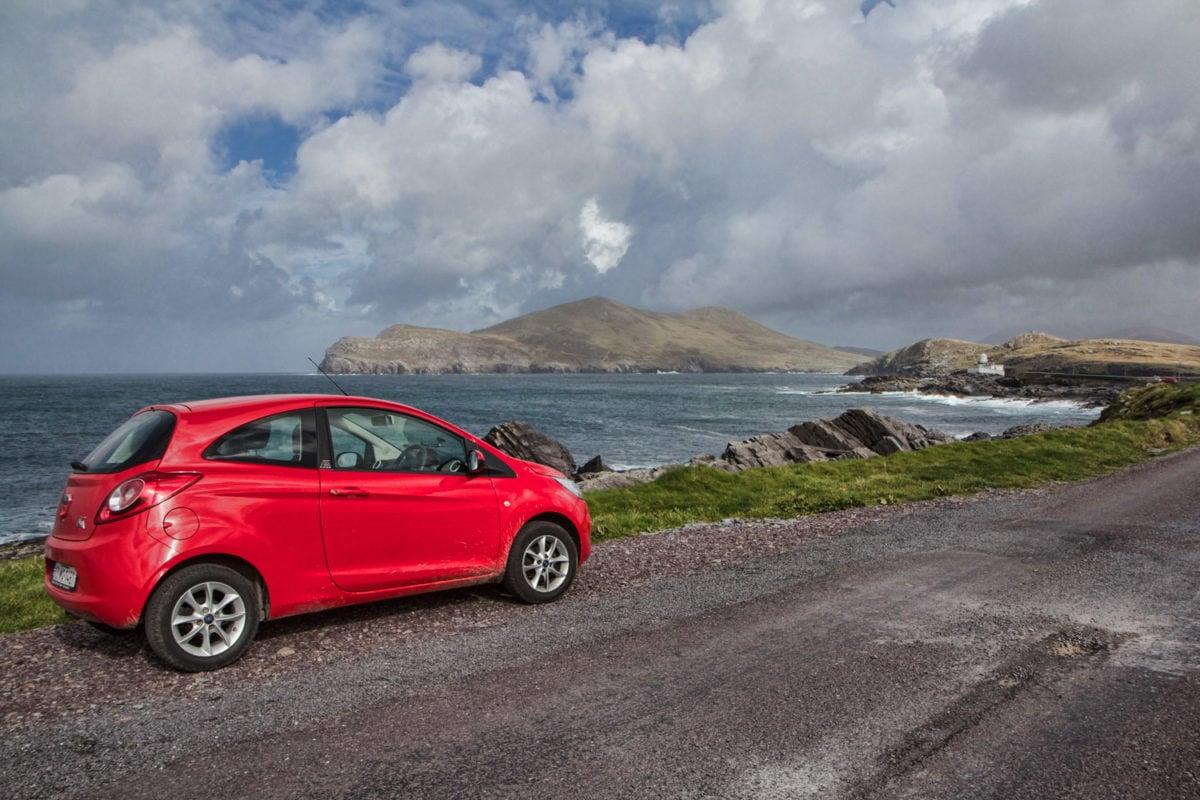 renting a car in ireland