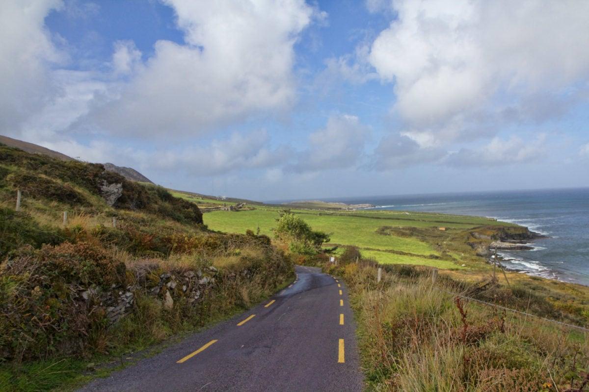 Wild atlantic way narrow road