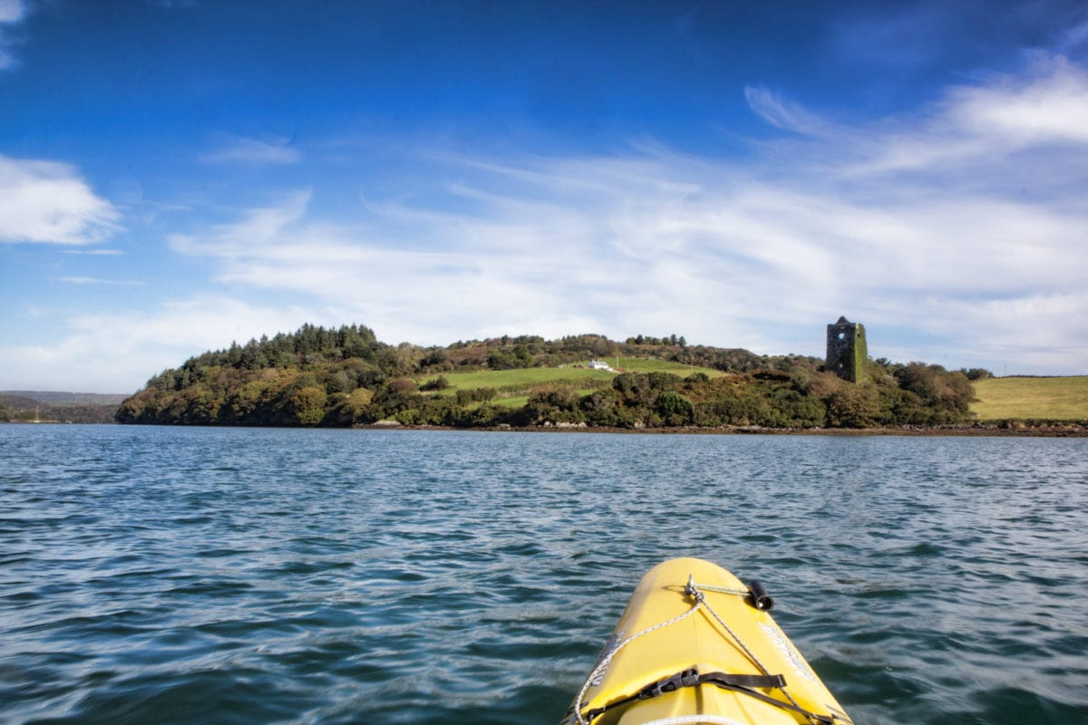 kayaking west cork
