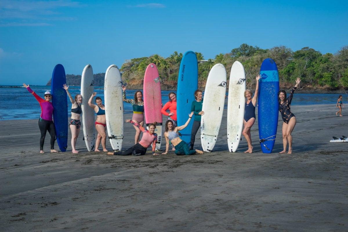 women's surf camp