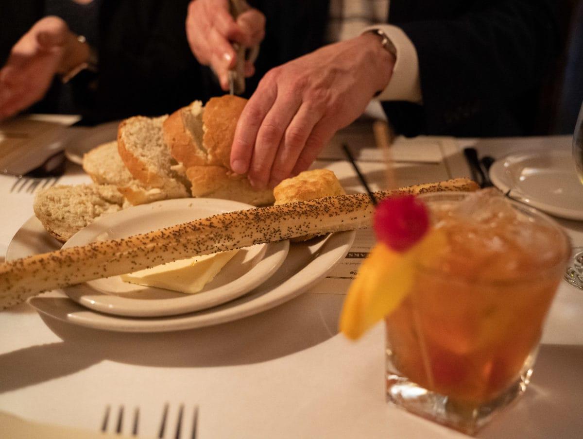 supper club bread