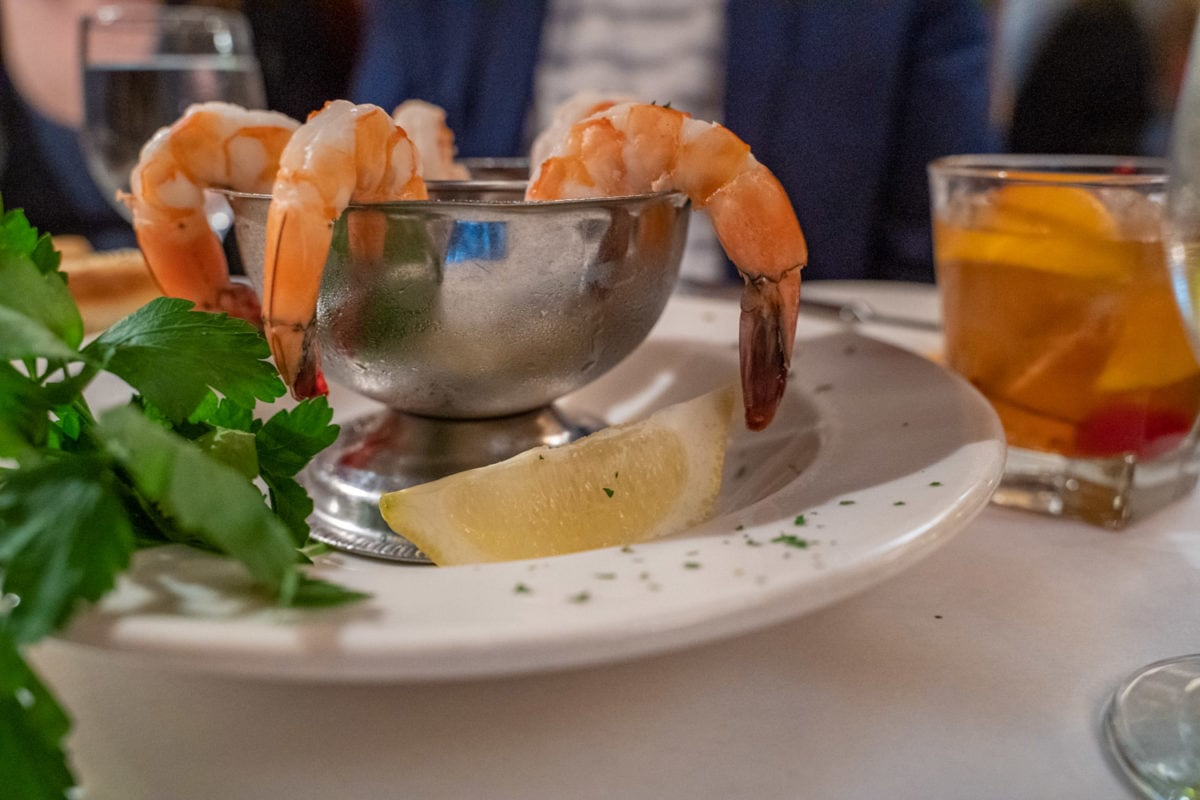 shrimp cocktail  supper club appetizers