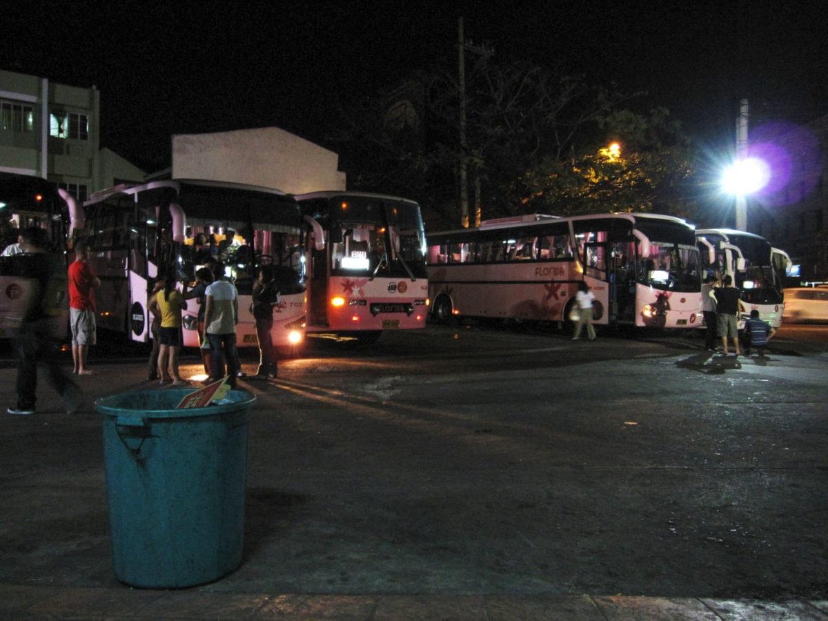 Bus from manila to banaue