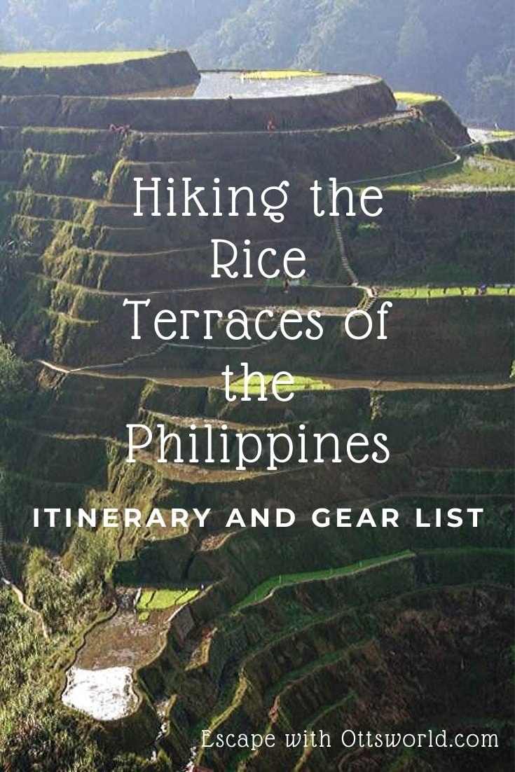 Hiking Philippines Rice Terraces