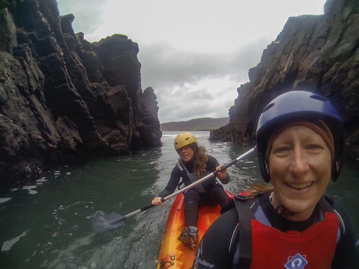 Connemara kayaking