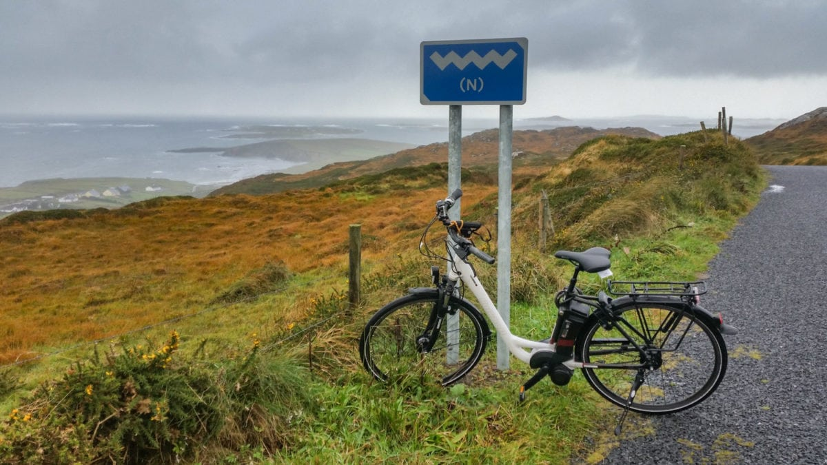 Electic bike Connemara ireland
