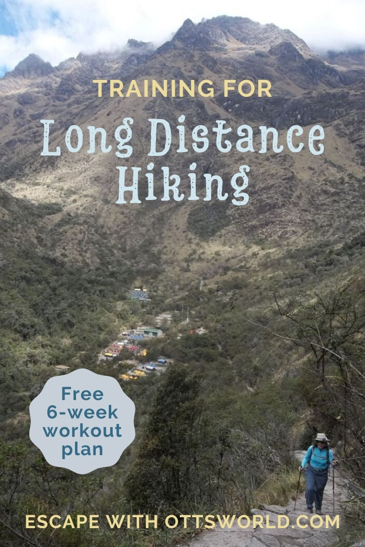Training to hike long distance