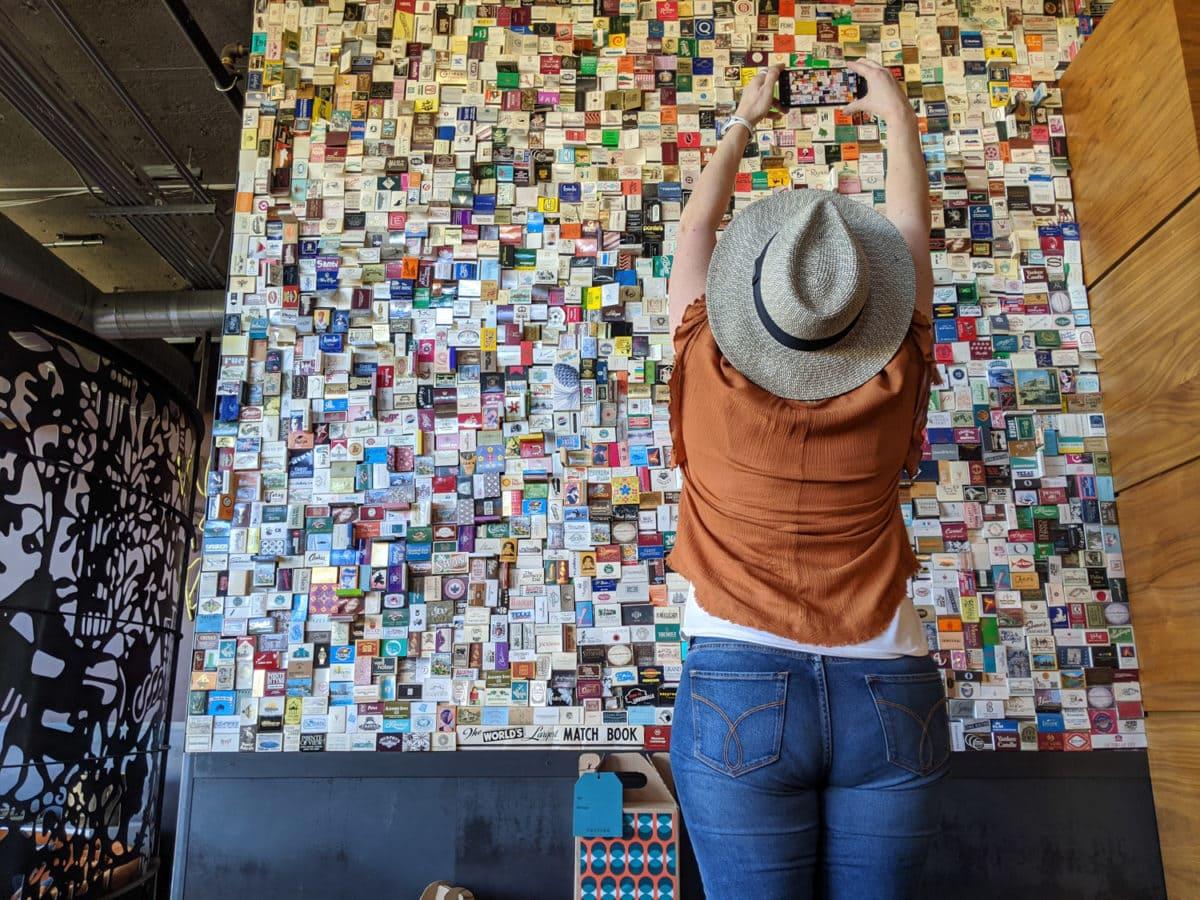 Matchbook collage Postino Scottsdale