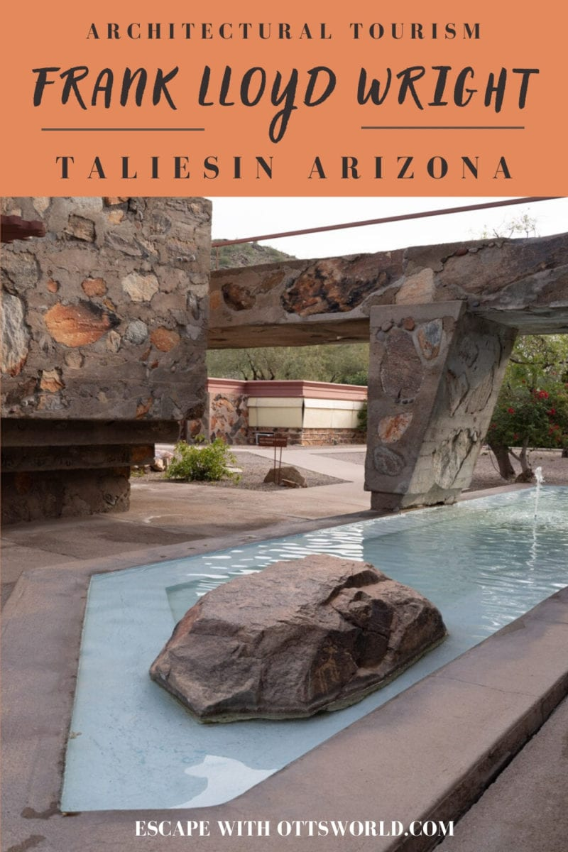 Frank Lloyd Wright Taliesin Arizona