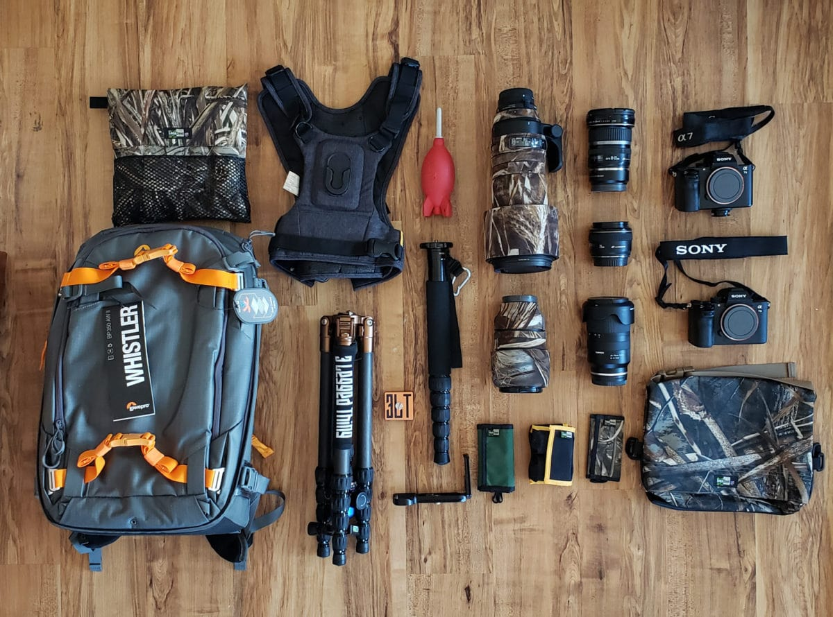 Lowepro Whistler camera backpack