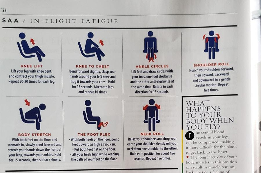 Airplane exercises