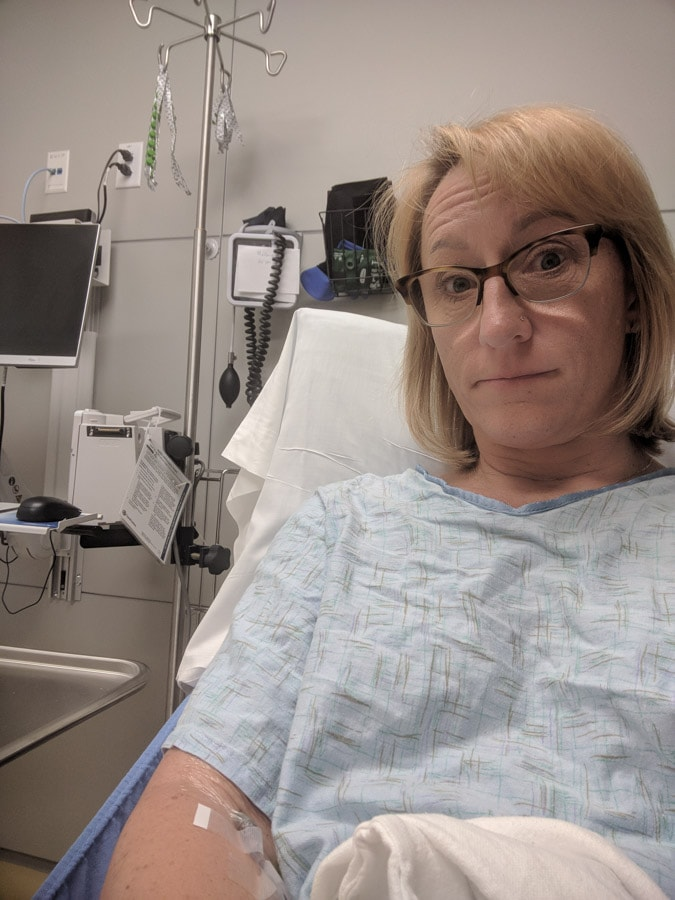 Diagnosed with blood clots from flying