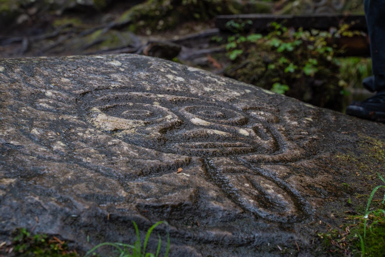 petroglpyphs bella coola