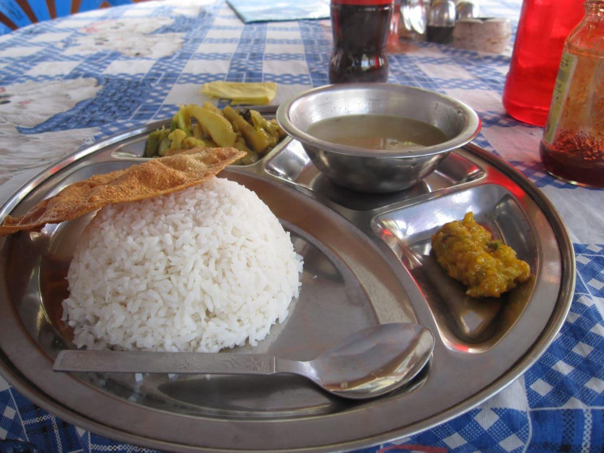 dahl bhat