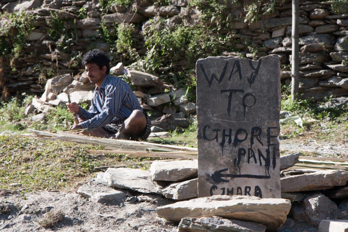 annapurna trail markings