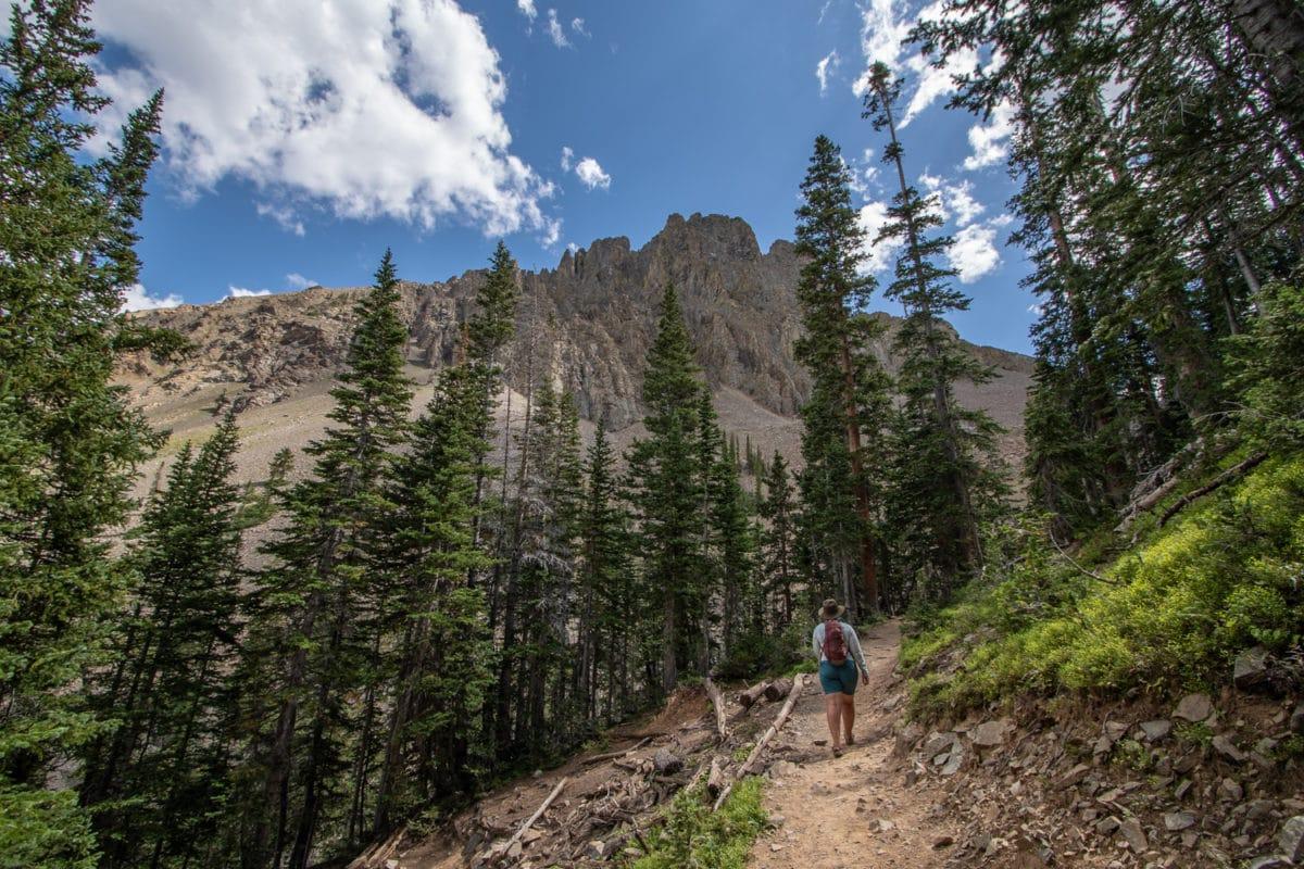 agnes lake hike