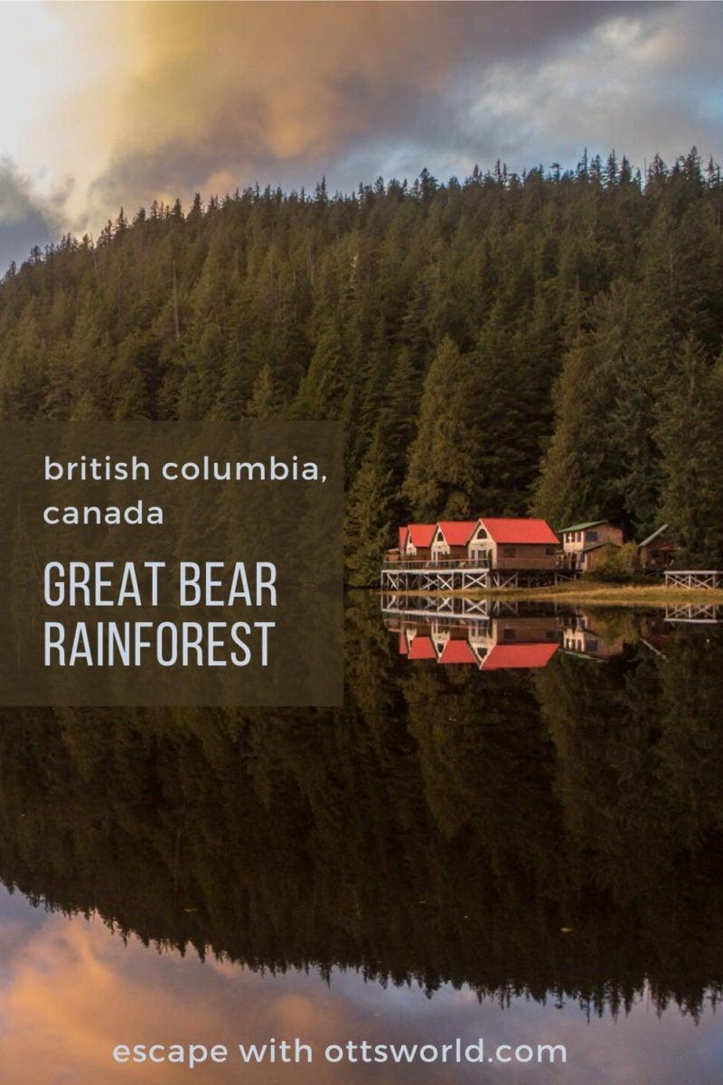 great bear rainforest british columbia canada